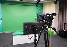 The video studio in HKEdCity premises